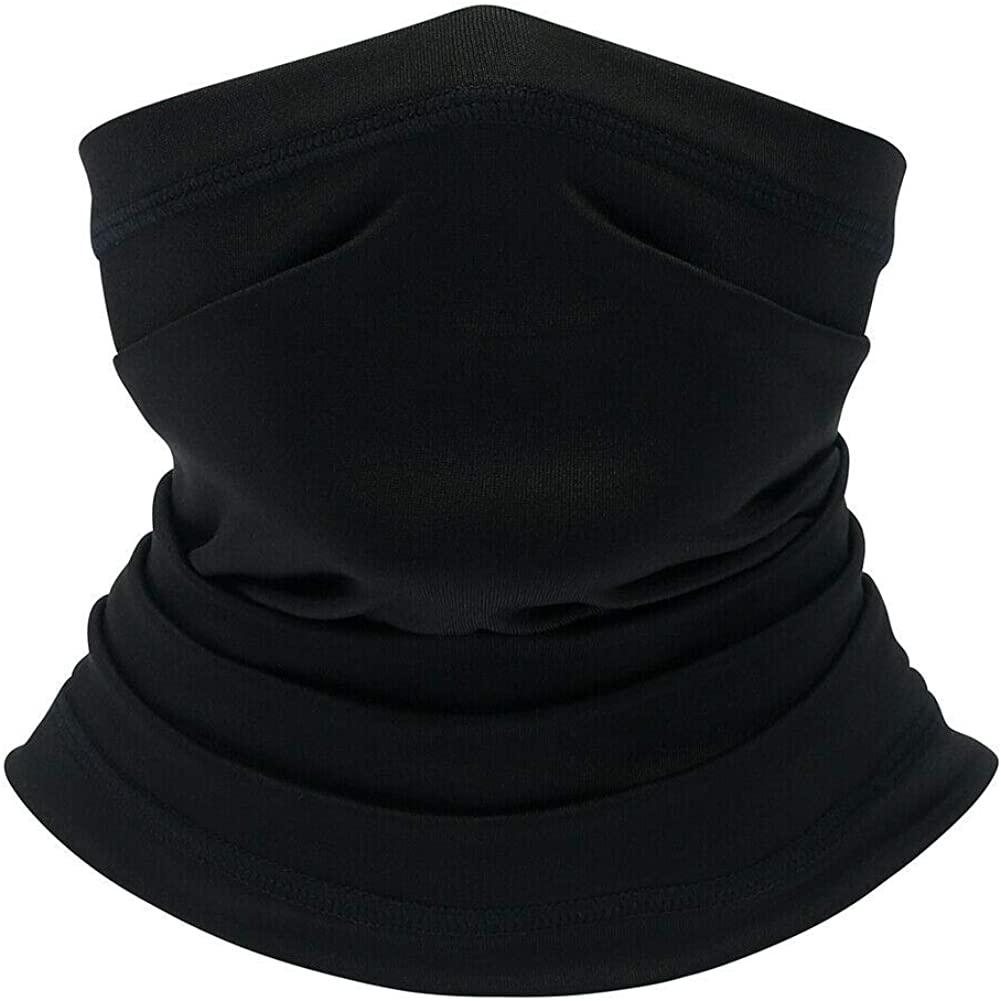 SRVOKOX Cooling Neck Gaiter Face Mask Covering Bandanas for Men Women Summer UV Face Scarf Mask Cover Facemask Balaclava