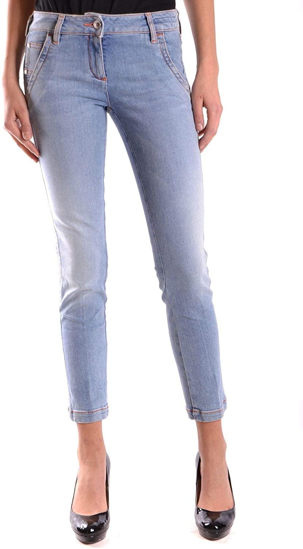 Jacob Cohen Luxury Fashion Woman MCBI23093 Light Blue Cotton Jeans | Season Outlet