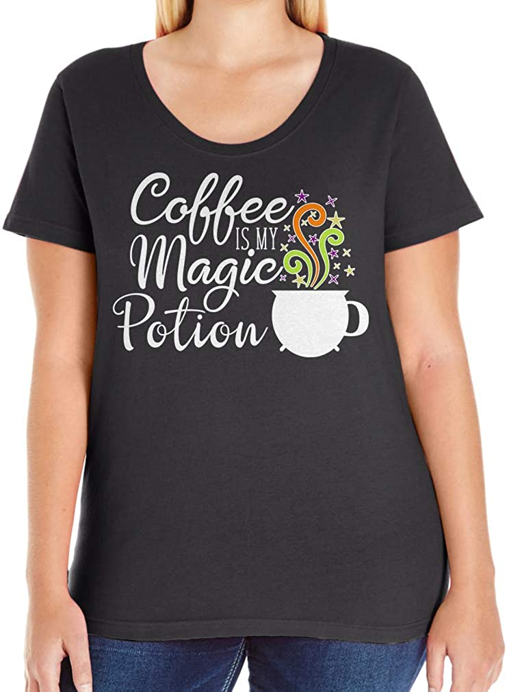 Tenacitee Women's Coffee is my Magic Potion T-Shirt
