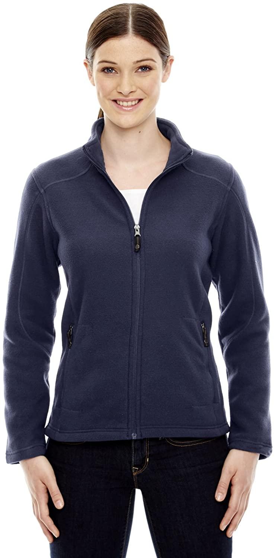 North End Womens VoyageFleece Jacket (78172) -CLASSIC NAVY -L