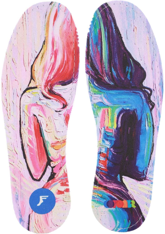 Footprint Insoles Flatt 5mm Collective Paint Shoe Insoles - 9/9.5