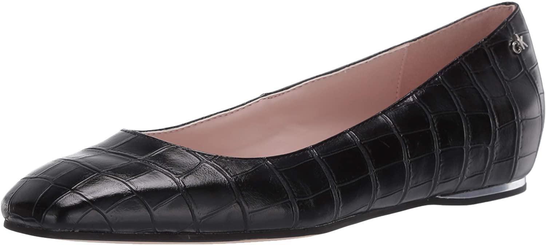Calvin Klein Womens Heidy Loafer Flat