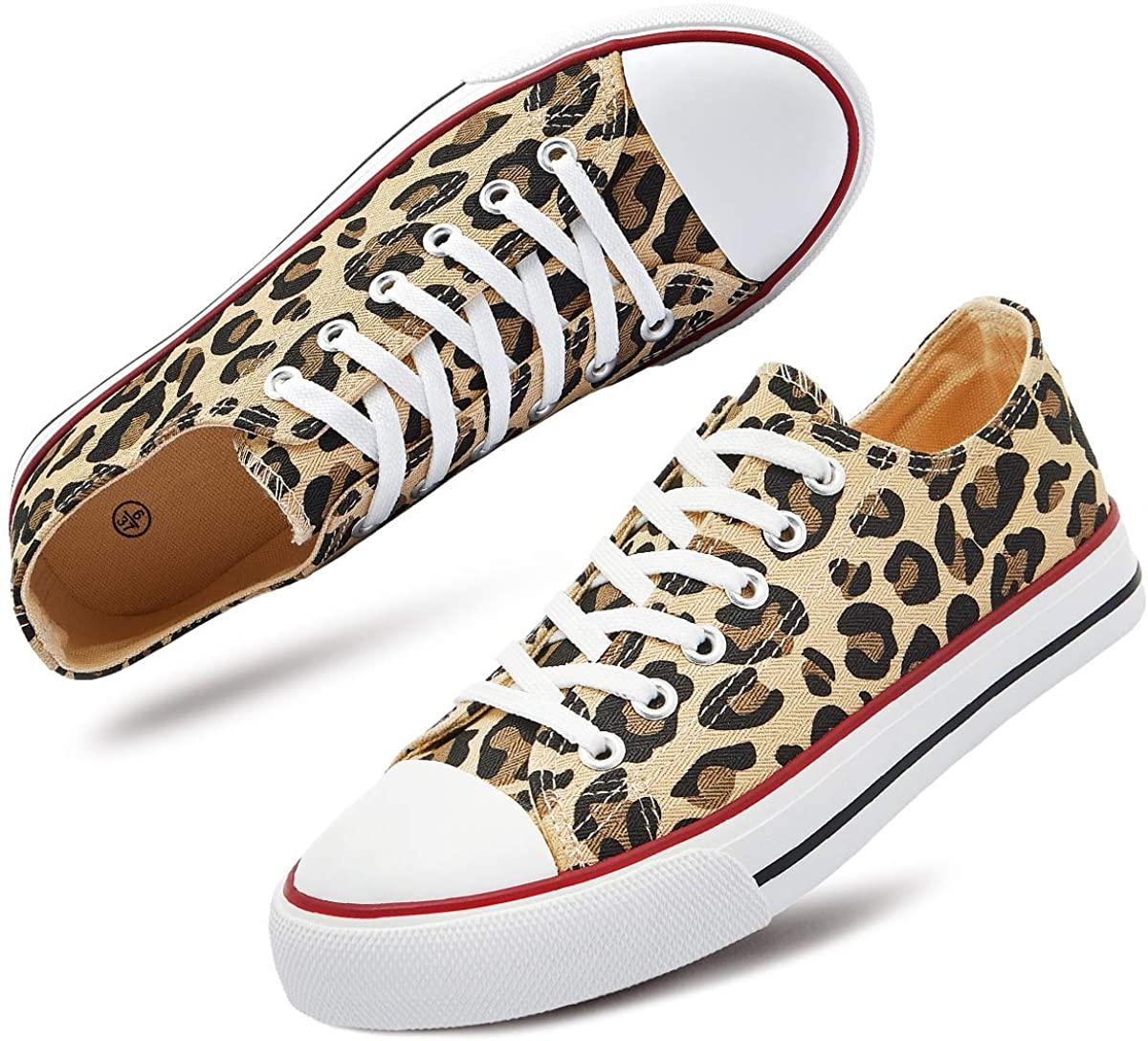 Women's Canvas Sneaker Classic Low Top Fashion Sneaker Casual Shoes…