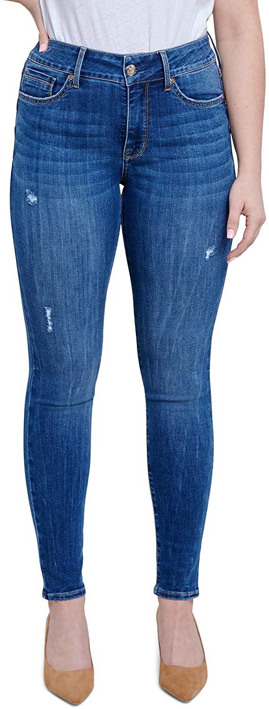 Seven7 Jeans Ultra High-Rise Booty Shaper Leggings in Bonet Bonet 4 29