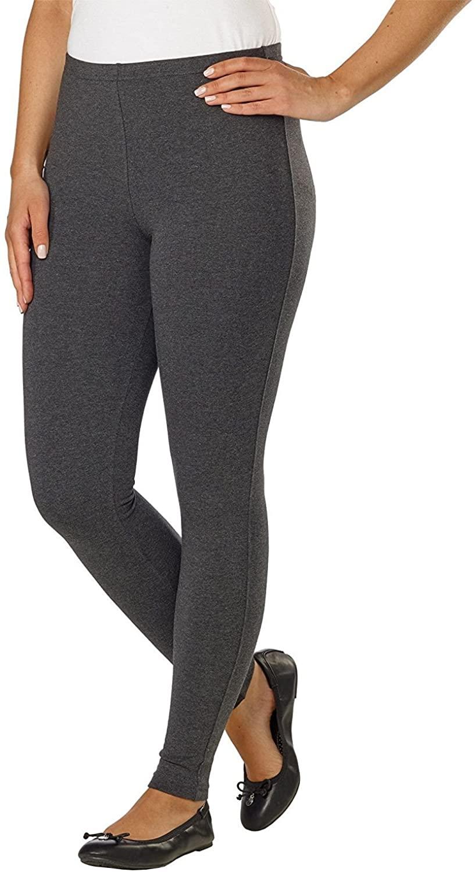 Kirkland Signature Ladies' Pull-On Style Legging, Stretch Fabrication, Elastic Waistband
