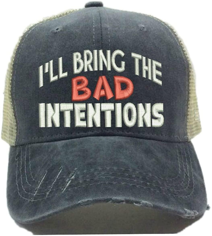 I'll Bring The Alcohol Bad Decisions Adult Custom Distressed Trucker Hat Men Women Funny Ball Cap