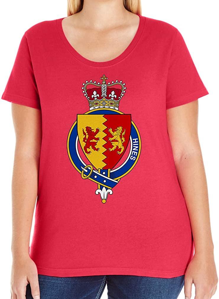 Tenacitee Women's Irish Garter Family Hines T-Shirt