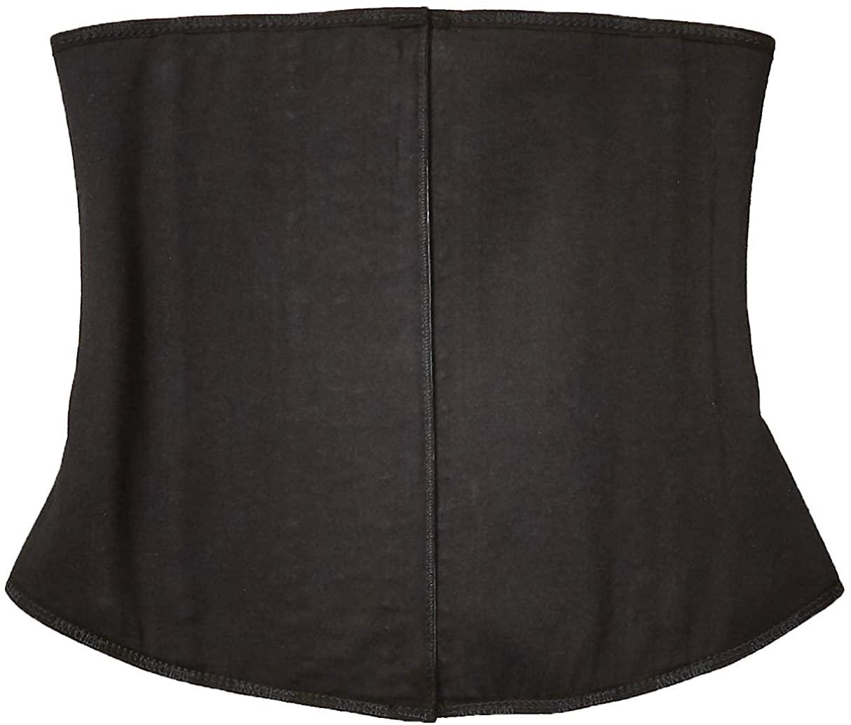 Ann Cherry Women 3 Hook Waist Cincher Latex Training Corset Shapewear, Gray, S 32