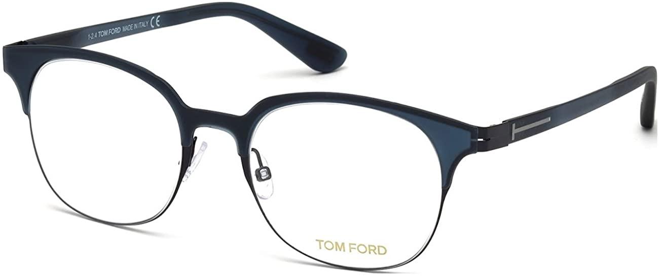 Tom Ford - FT 5347, Geometric, acetate/metal, men, DARK BLUE(089 H), 49/19/140