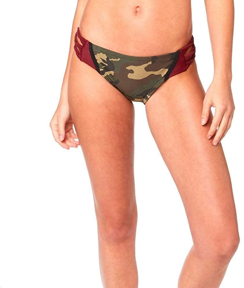 Fox Womens Corbin Lace Up Swim Bottom