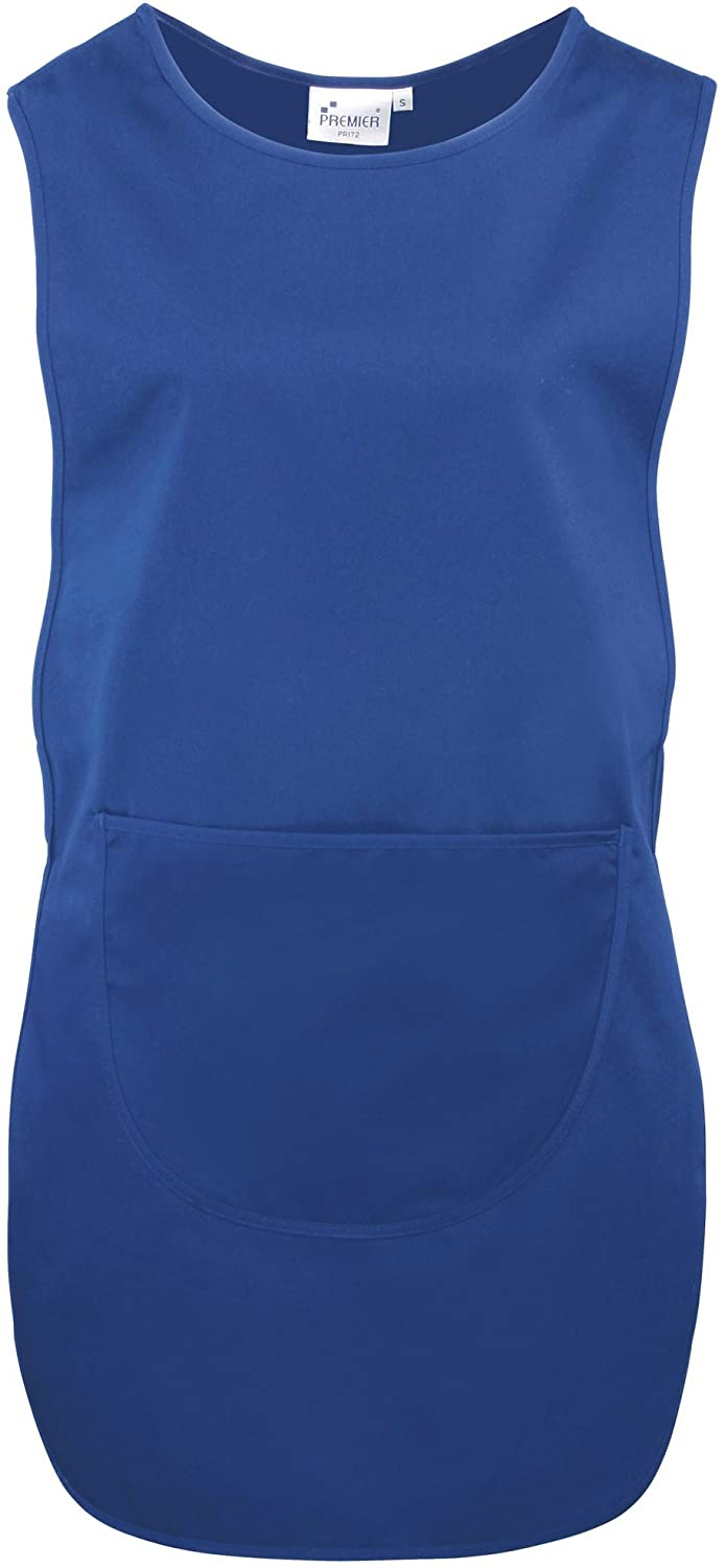 Premier Ladies/Womens Long Length Pocket Tabard/Workwear