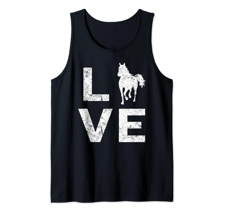 Love Horses Gift Tank Top
