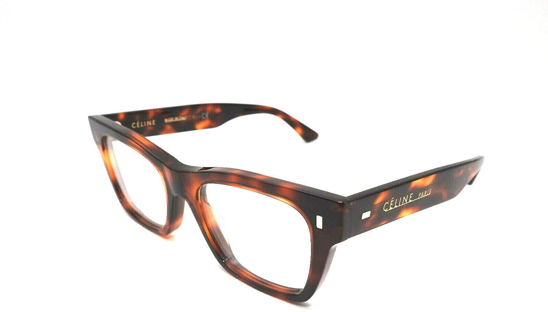 Celine CL50011I - 054 ACETATE Eyeglass Frame Tortoise 48mm