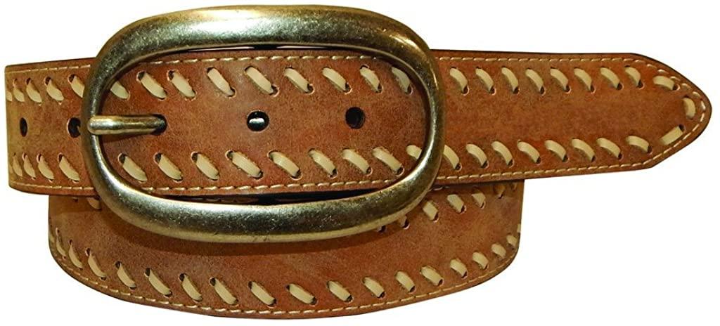 Buckstitch Vintage Leather Belt XXL