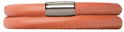Endless Jewelry 12110-36 Coral Leather 36cm/7.0inch