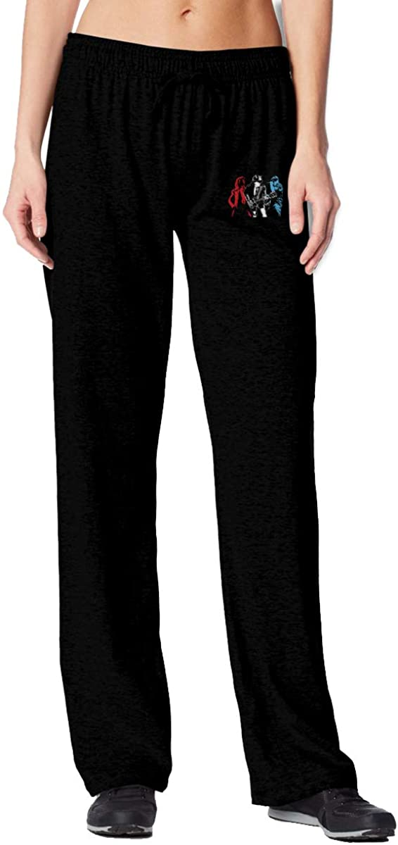 PEACE NEW STORE Women's Slim Jogger Pants, Bitreight's Music Profile Last Sweatpants for Training, Running, Sports, Workout