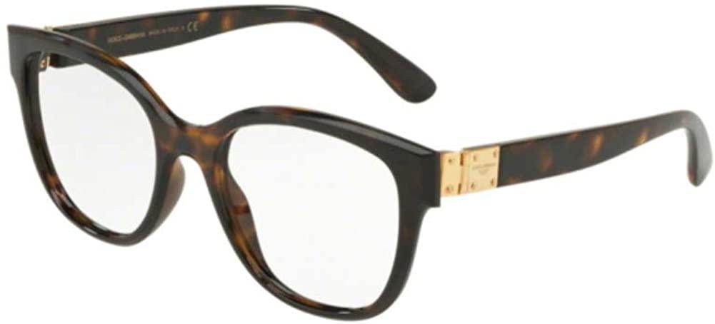 Dolce&Gabbana DG5040 Eyeglass Frames 502-52 - Havana DG5040-502-52