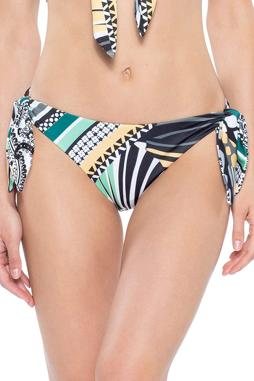 Becca by Rebecca Virtue Women's Handkerchief Tie Side Hipster Bikini Bottom