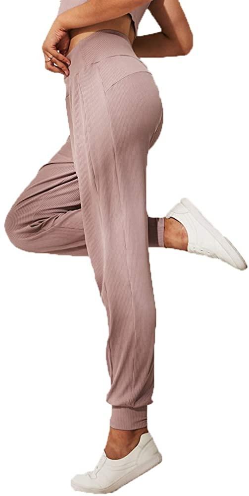 XIAOXIXI Women's High Waist Harem Pants Jogger Yoga Pants Casual Pajama
