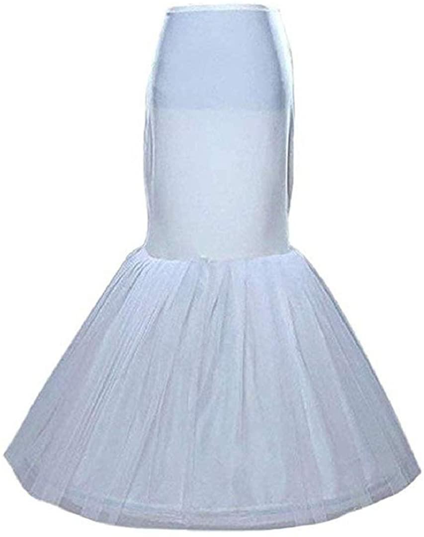 NEJLSD Bridal Mermaid Adjustable Crinoline Petticoat/slips/underskirt