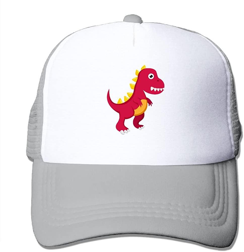 TO-JP Tyrannosaurus Dinosaur Red Mesh Hat Baseball Caps Headwear