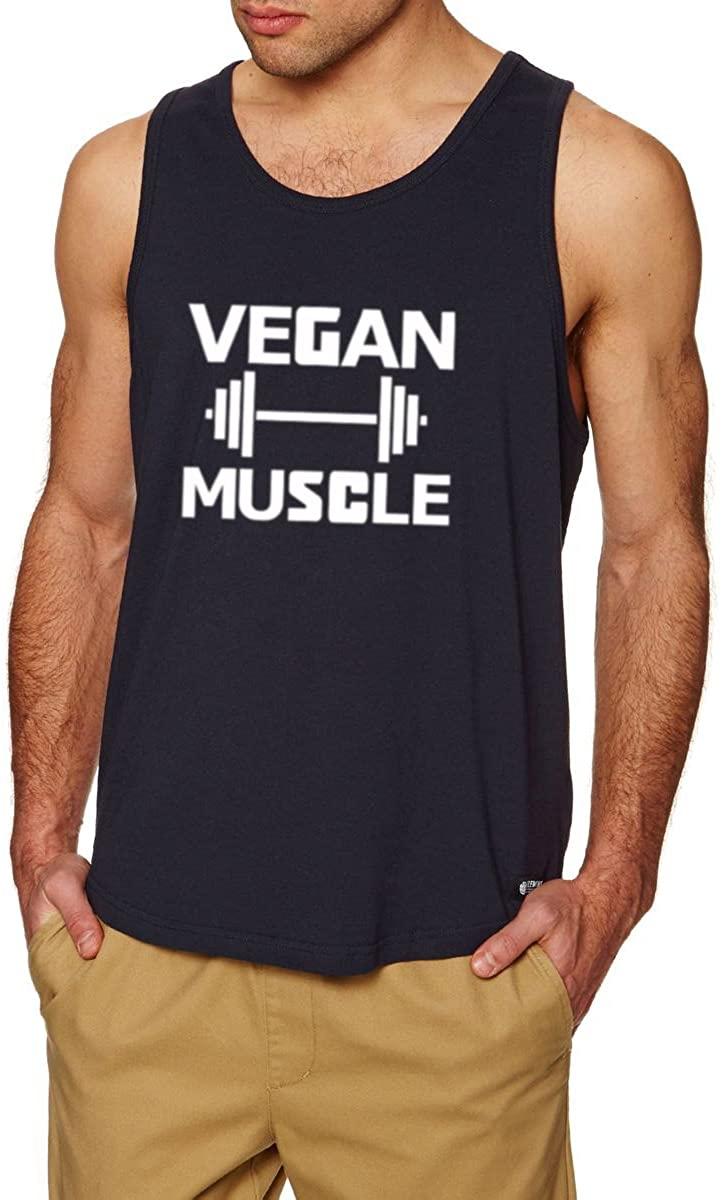 Lexiu Yibai Vegan Muscle Casual Fitness Workout Tank Tops Men
