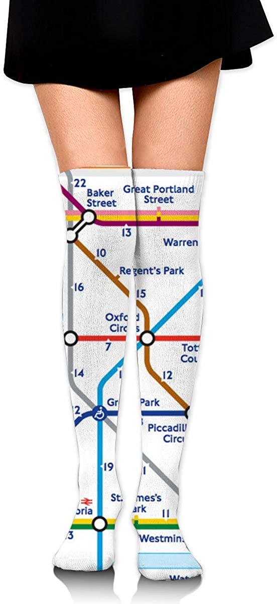 Game Life High Socks Walking Tube London Sport Socks Crew Socks