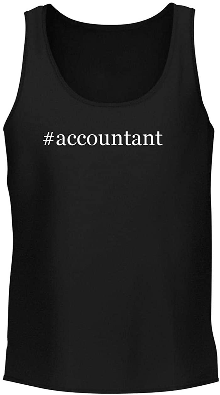#accountant - Men's Soft & Comfortable Hashtag Tank Top