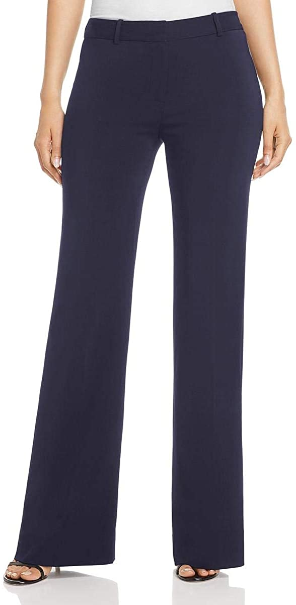 Kobi Halperin Womens Melina Viscose Wide Leg Dress Pants