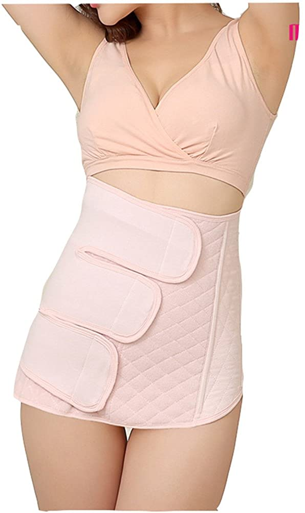DXS Breathable Waist Trimmer Elastic Postpartum Recoery Support Girdle Slimming Belt