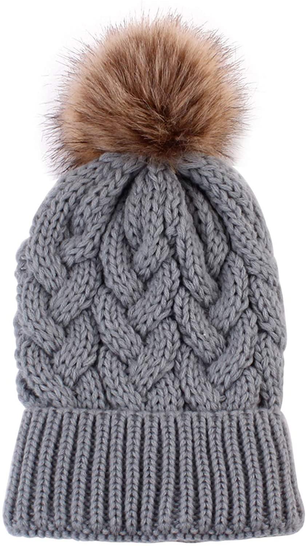 OH WHY Baseball Cap Men Baseball Women Keep Warm Winter Hats Knitted Wool Hemming Hat Womens Skullies & Beanies from Apparel Accessories,Gray1