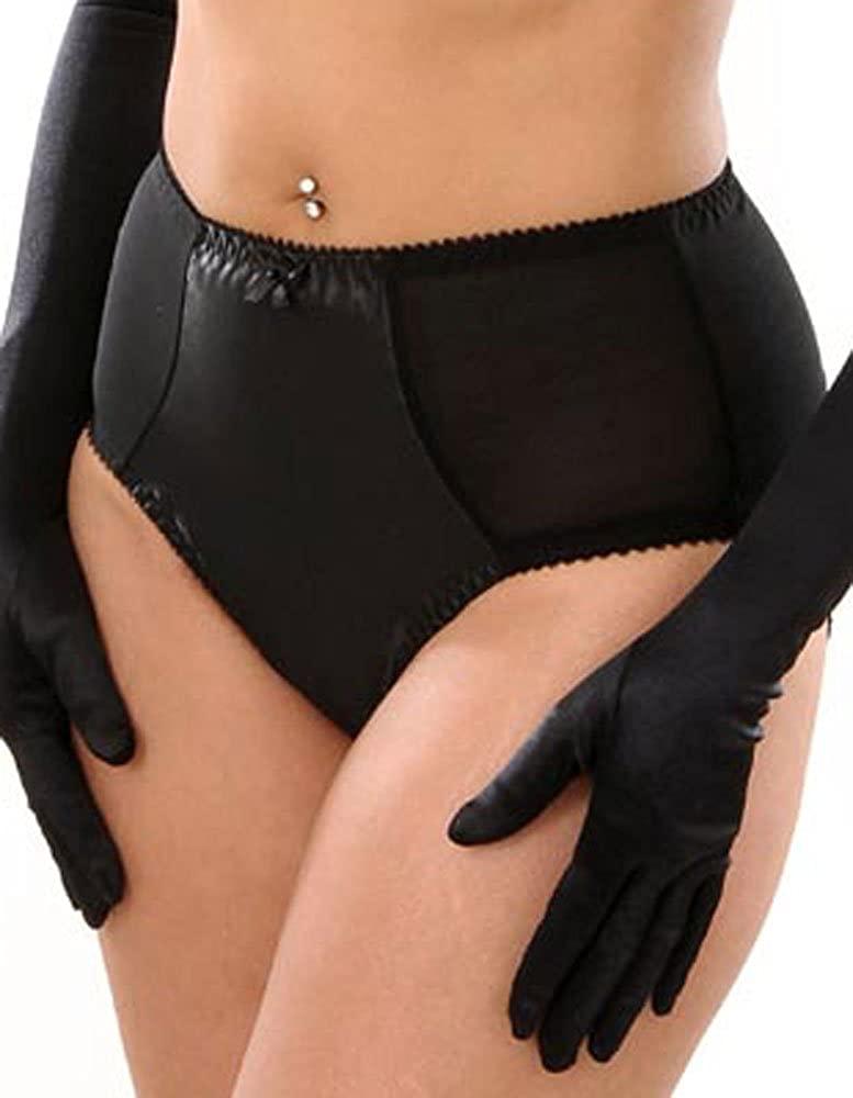 What Katie Did Black Satin Maitresse Panties