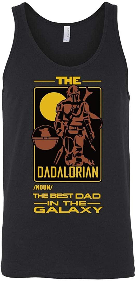 The Dadalorian The Best dad in The-Galaxy idea Tanktop