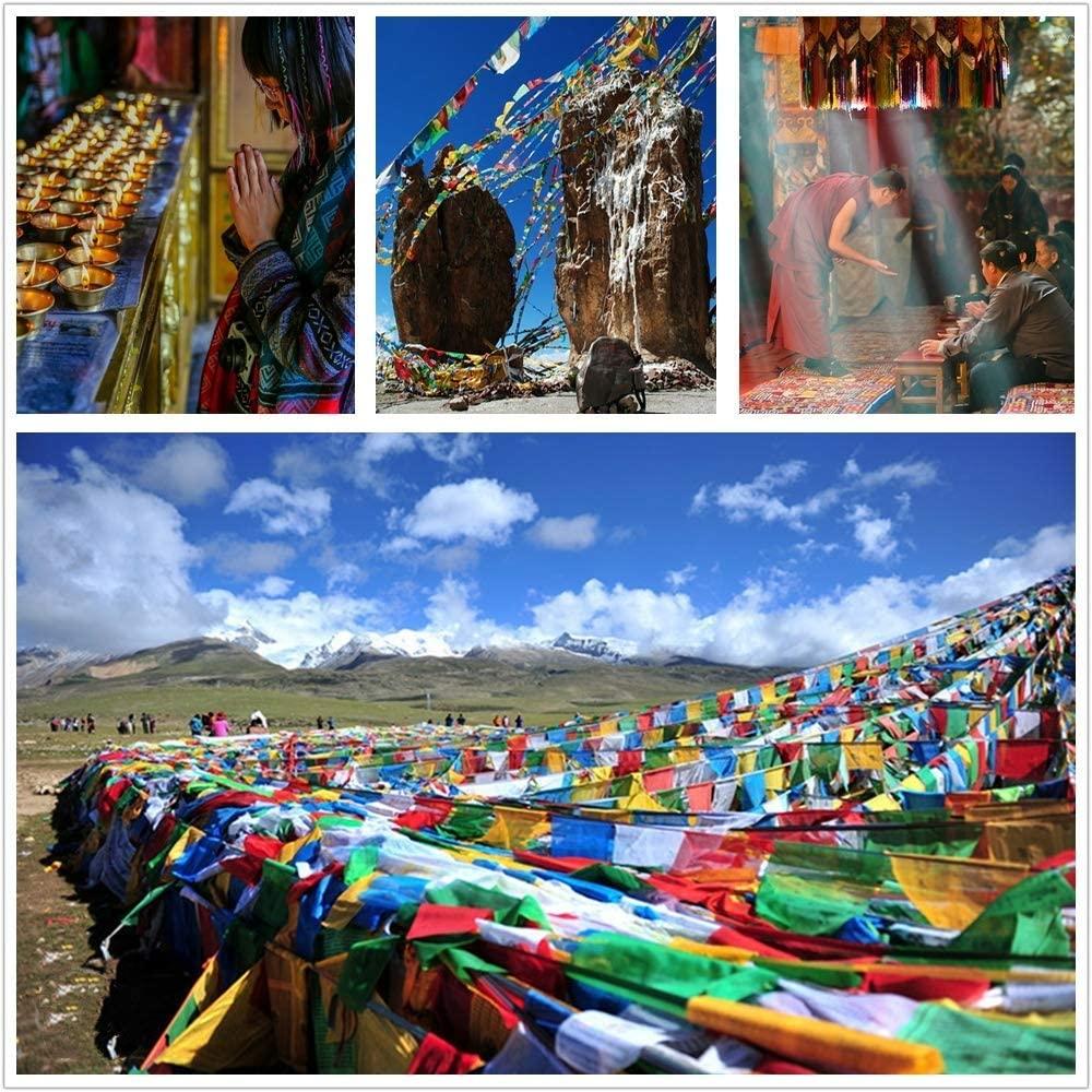 DJPP Handmade Tibetan Rope Cotton Friendship Bracelets Custom Wrap Woven Bohemia Style Bracelet for Women Men Valentine's Day, Mother's Day, Birthday Party, Best Gift for Friends