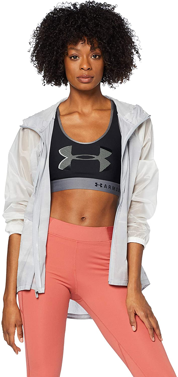 Under Armour UA Woven Full Zip Printed MD Onyx White