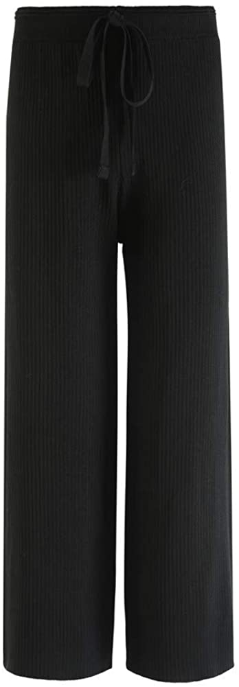 N /A Women's Cotton Pull-on Pant with Elastic Waist