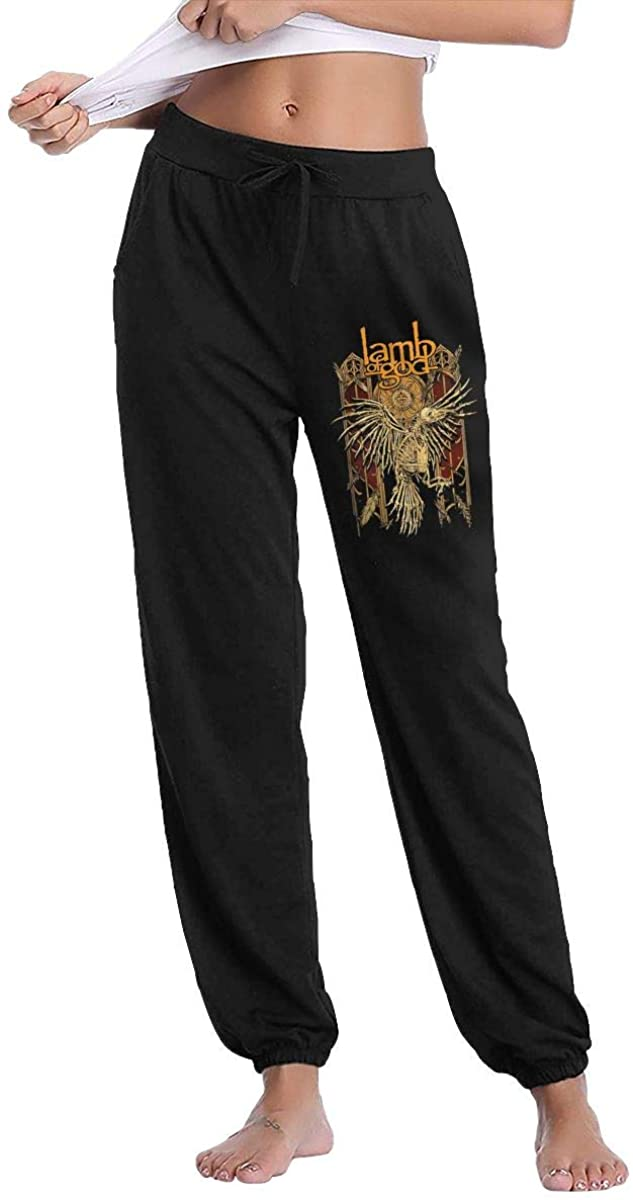 Lamb of God Leisure Sports Breathable Women's Long Pants Sleep Pants Sweatpants