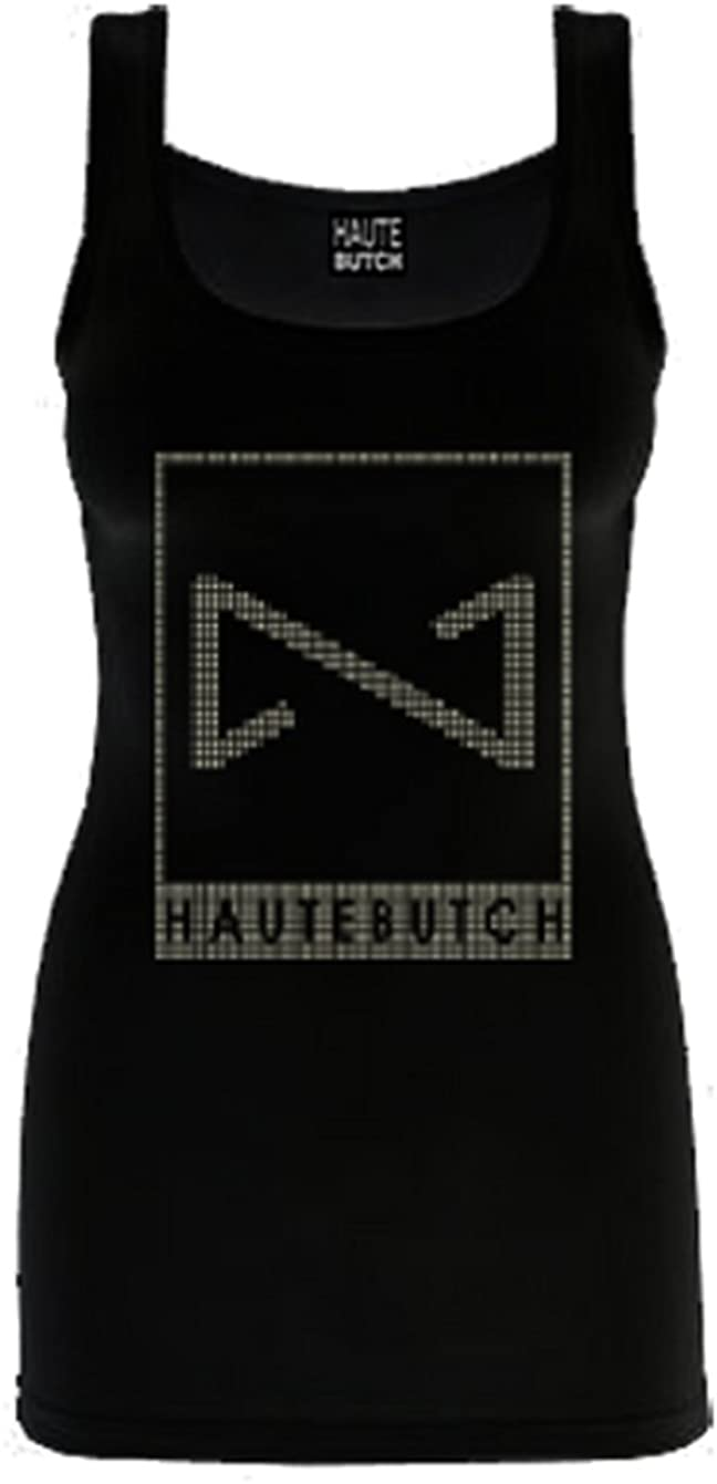 Hautebutch Women's Deconstructed Bow Tank XX Large Black