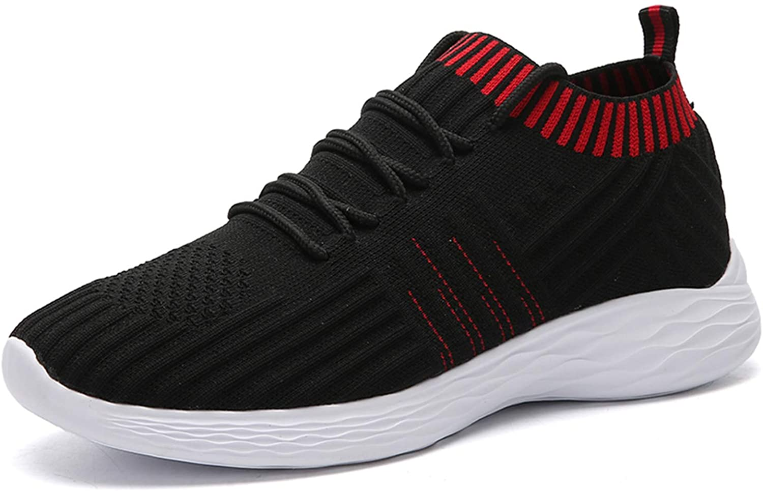 MARKOR Women's Athletic Walking Shoes Casual Mesh-Comfortable Lightweight Slip On Knit Fashion Sneakers Gym Sneakers for Women