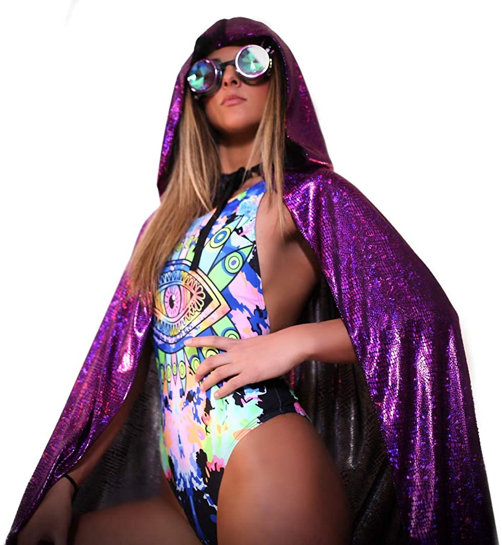 Womens Rave Bodysuits Swimsuit Rompers – One Piece EDM Festival Bathing Suits