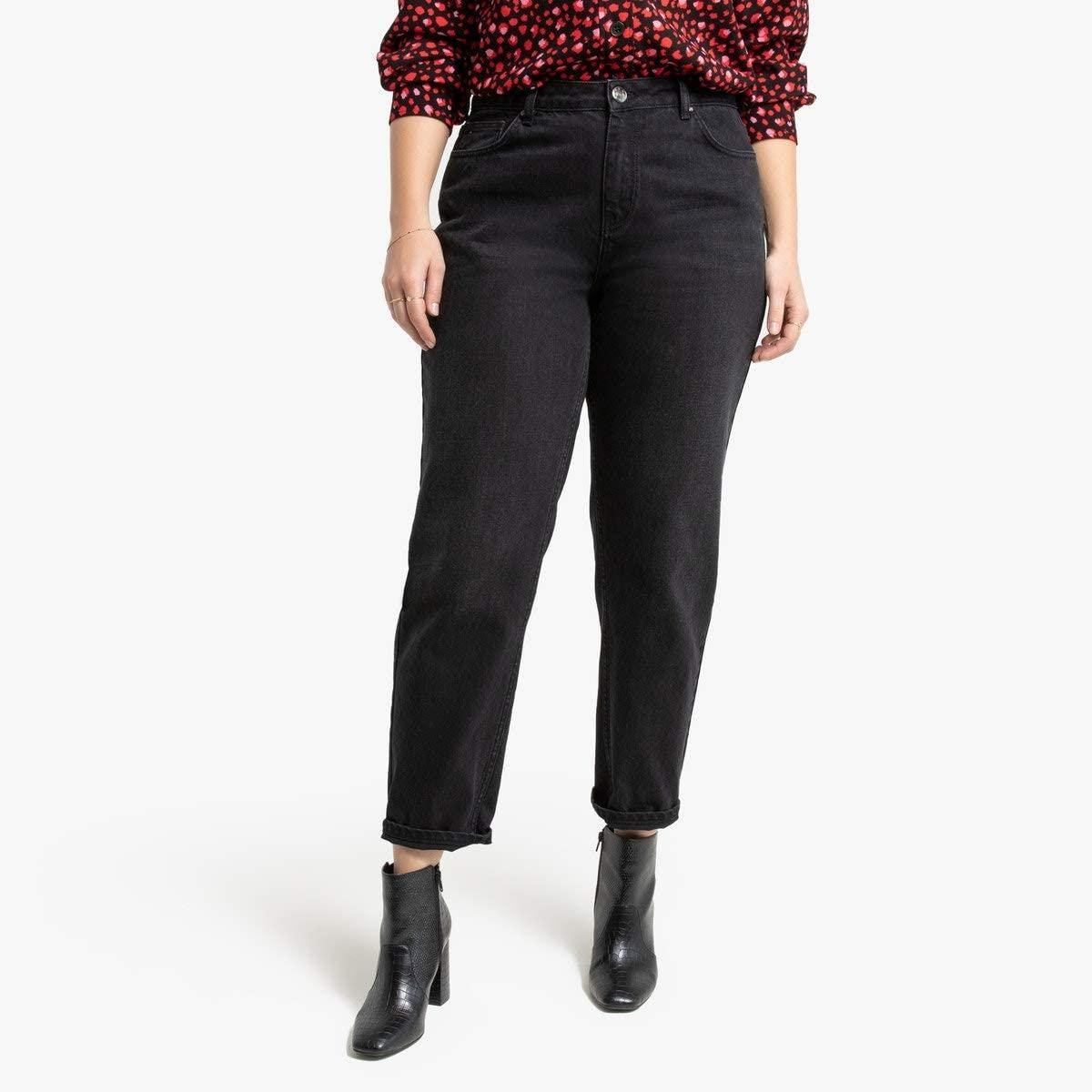 La Redoute Collection Plus Womens Boyfriend Jeans, Length 27.5