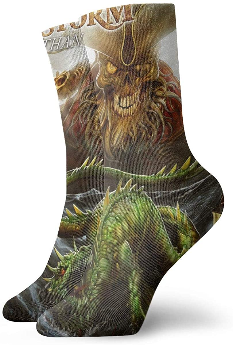 Alestorm Personality Stylish Short Socks, Comfortable, Breathable, Light And Casual