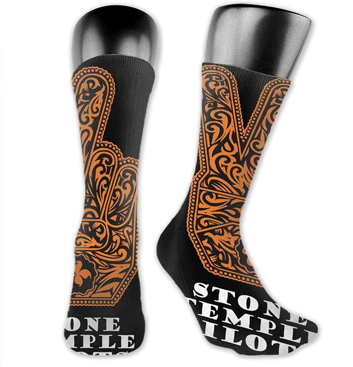 Stone Temple Pilots Medium Long Socks Dress Hose Crew Short Anklet For Workout