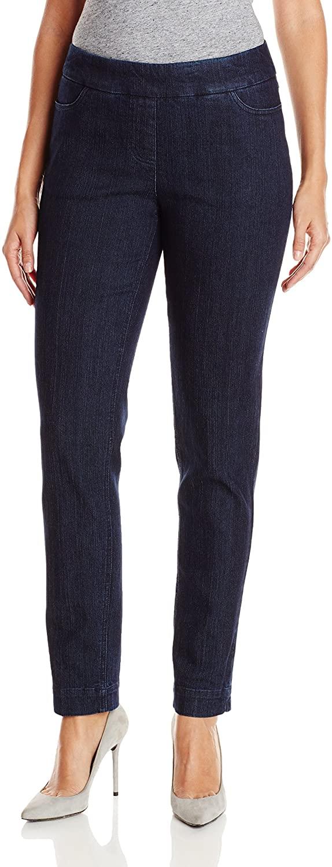 SLIM-SATION Women's Regular Pull-On Straight-Leg Pant With Pockets