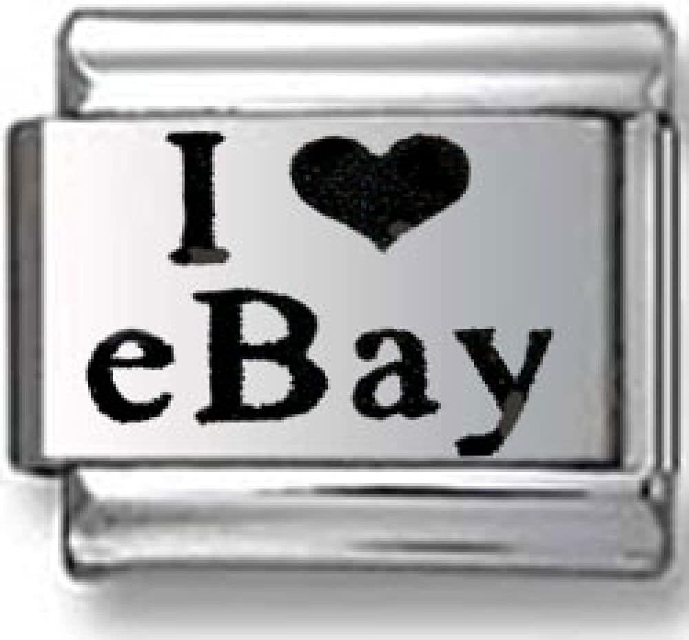 I Love E-bay Italian charm