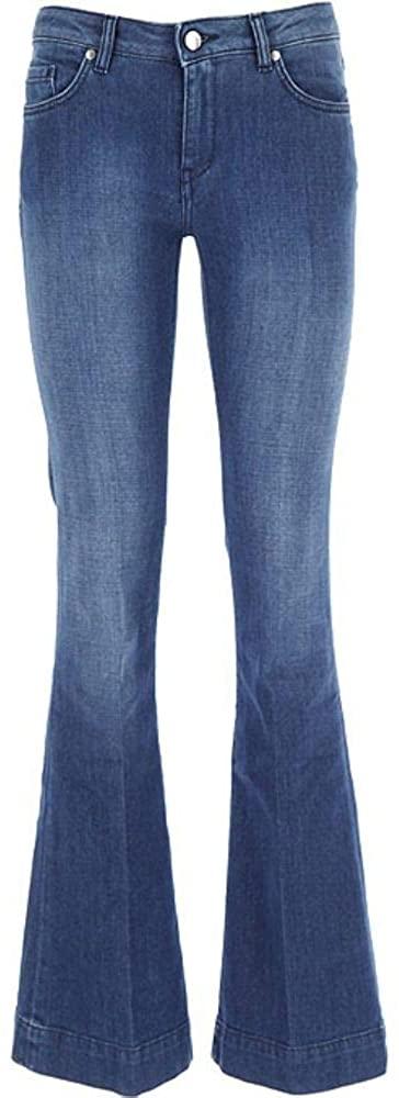fay Luxury Fashion Woman NTW8240544LQS1U207 Blue Elastane Jeans | Spring Summer 20