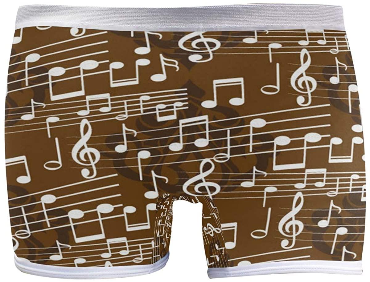 SLHFPX Womens Panties Underwear Endless Abstract Pattern Soft Boyshort Panties
