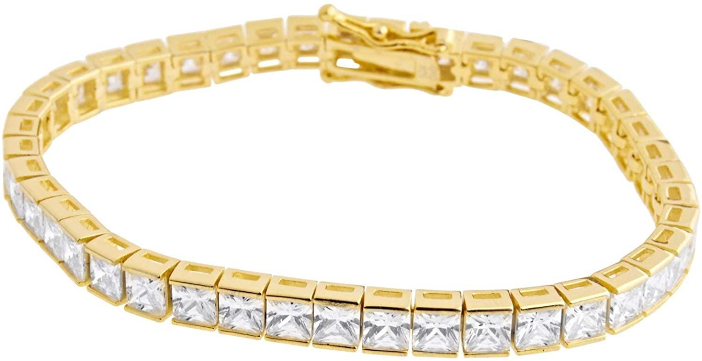 Sterling 925er Silver Tennis Bracelet 5mm
