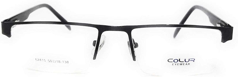 Amar lifestyle Eye frame colur black metal rec shape 50 mm unisex_alacfrpr922