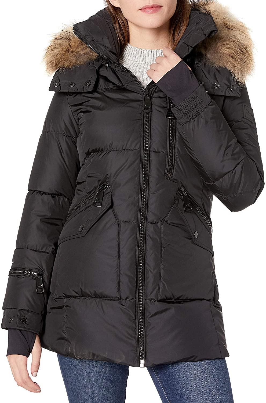 SAM. Womens Fur Cruiser, black